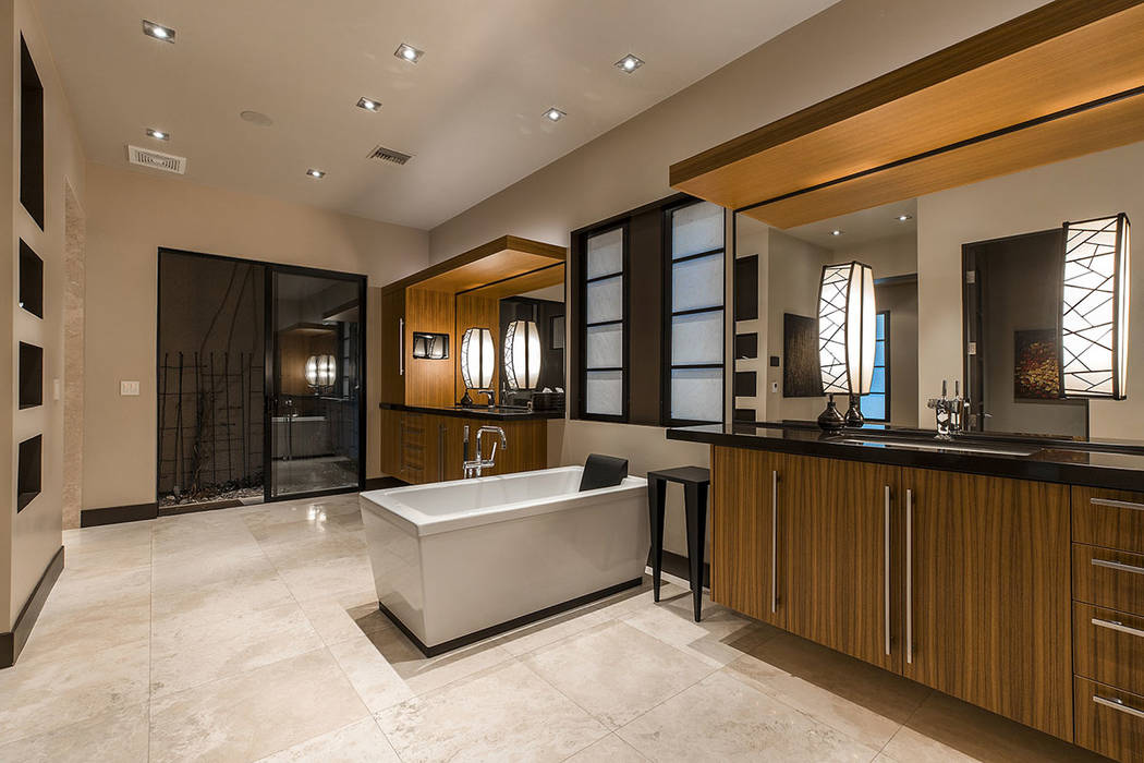 The master bath.  (Shapiro & Sher Group)