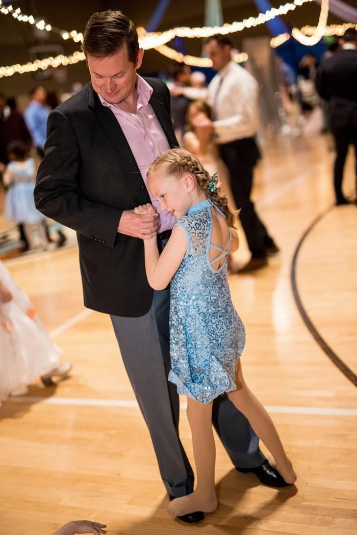 Credit: Joe Fury Dad and daughter dancing.