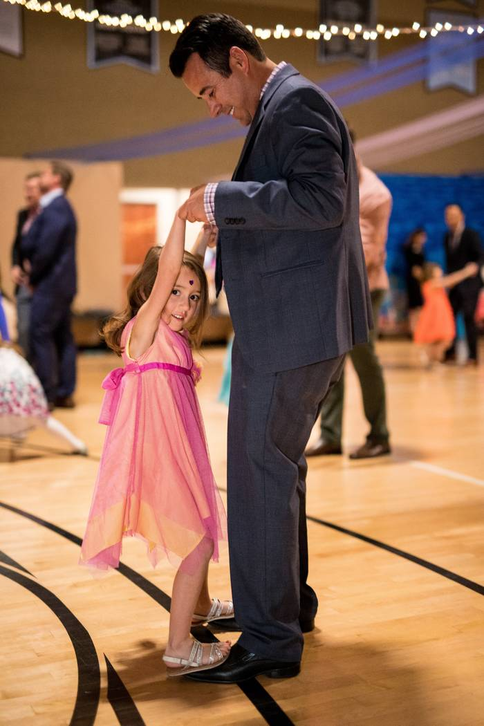 Credit: Joe Fury Gerry and Emilia Montiel share a dance during.