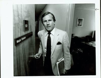 Former prosecutor Dan Seaton is seen here before he retired in 1999. He prosecuted Scott Sloan. (Gary Thompson/Las Vegas Review-Journal)