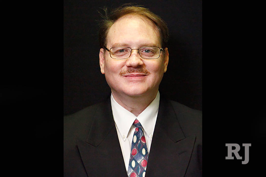 Brandon Casutt, small business owner in Las Vegas (Las Vegas Review-Journal)