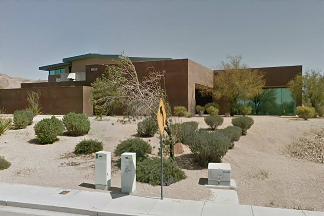 Hollywood Recreation Center in Sunrise Manor, Las Vegas (Google maps)