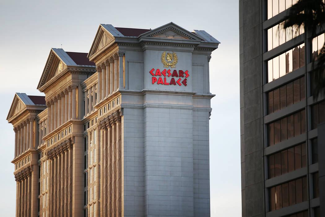 Caesars Palace hotel-casino in Las Vegas, Tuesday, Jan. 16, 2018. Erik Verduzco Las Vegas Review-Journal @Erik_Verduzco