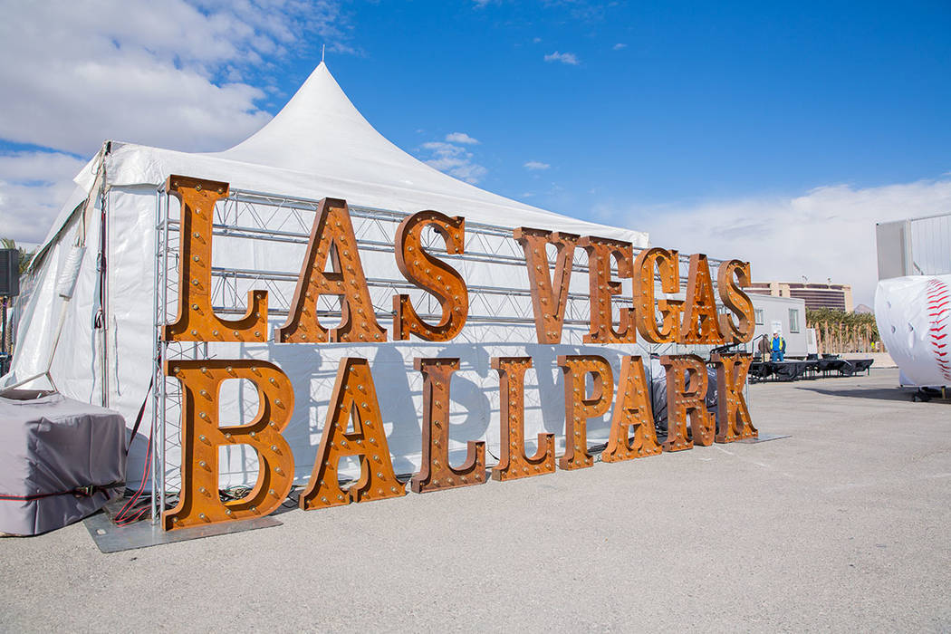 A groundbreaking ceremony was held for the Las Vegas Ballpark Feb. 23 in Downtown Summerlin. (Downtown Summerlin)