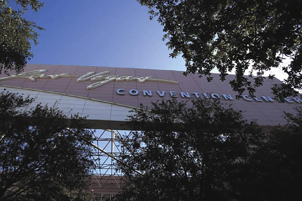 A exterior of the Las Vegas Convention Center (Las Vegas Review-Journal)