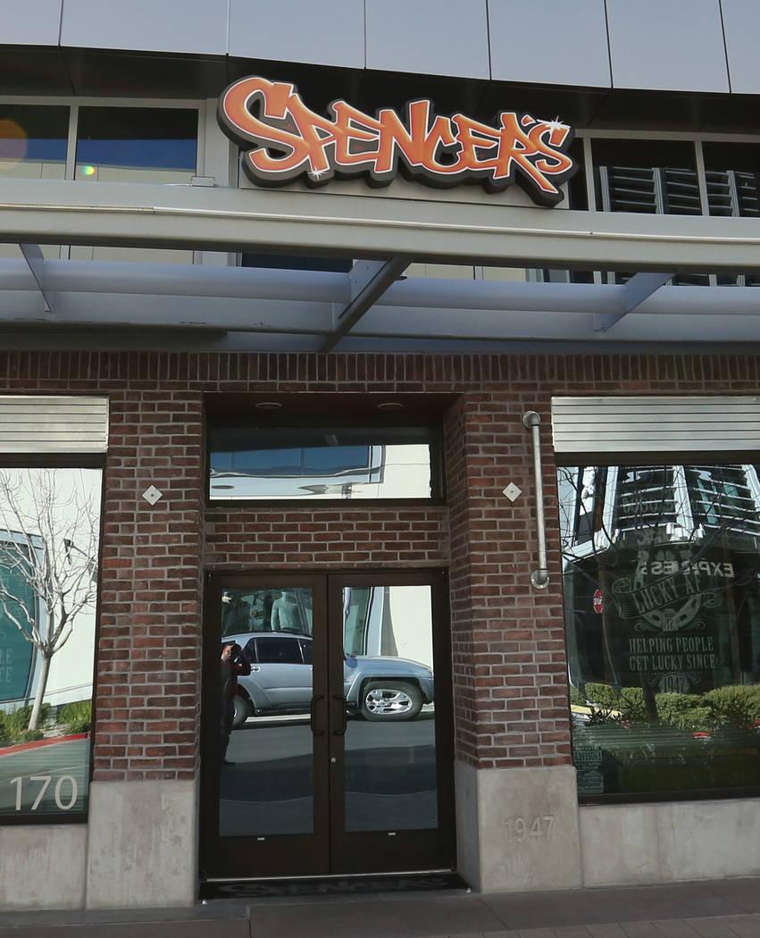 Spencer's Gifts photographed on Friday, March 2, 2018 in downtown Summerlin. Bizuayehu Tesfaye/Las Vegas Review-Journal @bizutesfaye