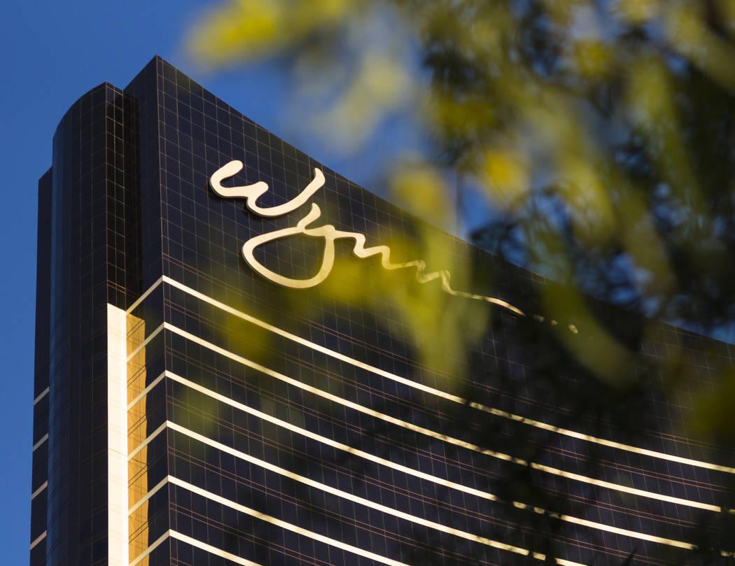 The exterior of Wynn Las Vegas on Friday, Jan. 26, 2018. Chase Stevens Las Vegas Review-Journal @CSStevensphoto