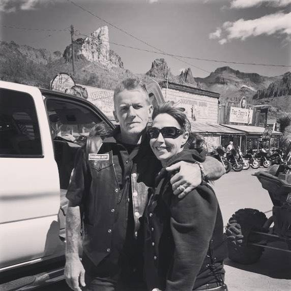 Denise McClellan and her husband, Roy, pose for a photo. Roy McClellan killed himself on Nov. 17, 2017, in Pahrump nearly two months after surviving the Las Vegas mass shooting. (Denise McClellan)