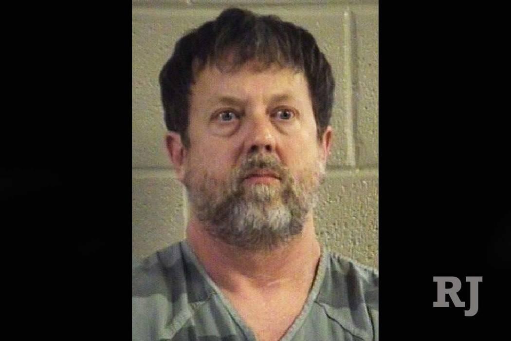 Social studies teacher Jesse Randal Davidson barricaded himself inside a classroom at Dalton High School in Dalton, Ga., Wednesday, Feb. 28, 2018, and fired a handgun. No one was injured. (Whitfie ...