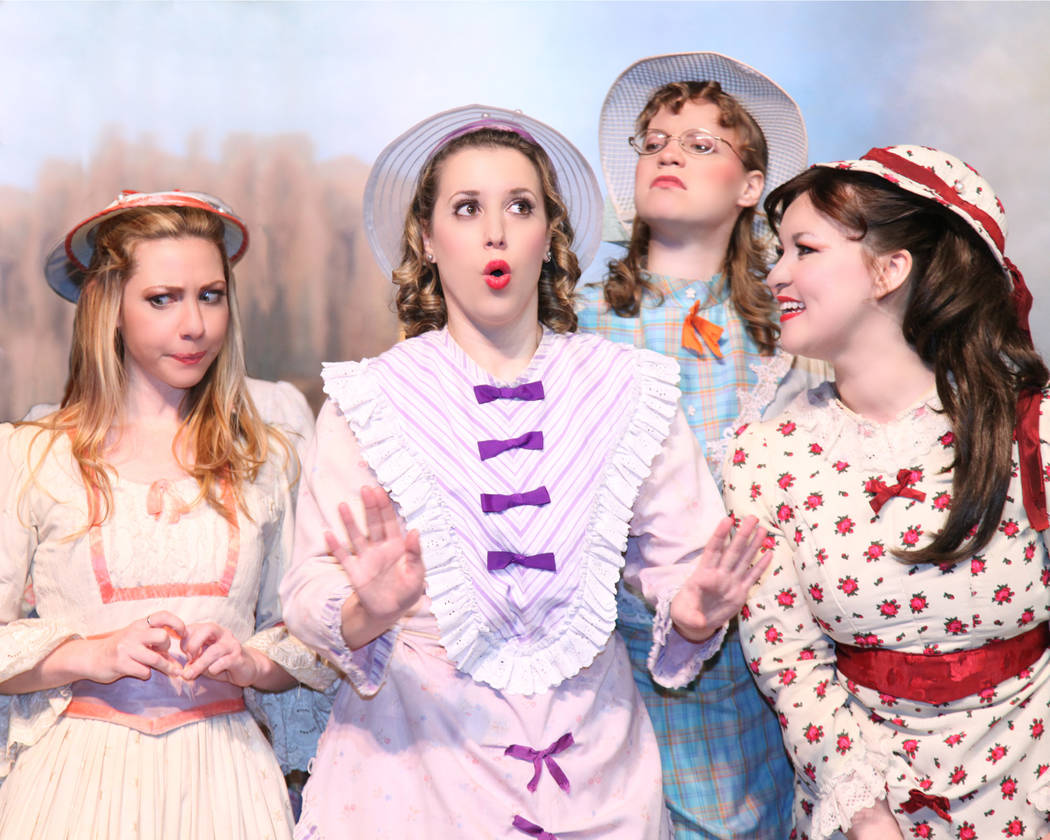 "A bevy of beauties tempt ""The Pirates of Penzance"" in New York Gilbert & Sullivan Players' production, which plays UNLV March 9, 2018."