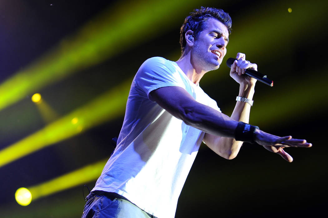 Nick Hexum of 311 performs at the Cruzan Amphitheater on July 17, 2012 in West Palm Beach, Florida. (Jeff Daly/Invision/AP)