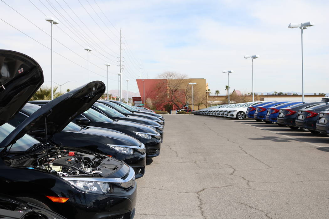Las vegas is testing ground for online car buying tools for Honda dealer las vegas