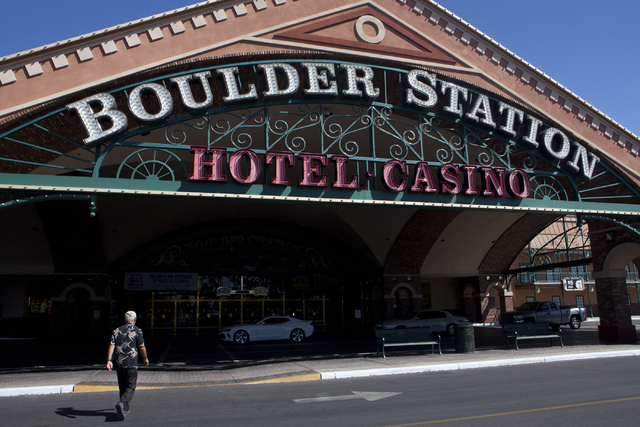 Boulder Station hotel-casino in Las Vegas.  Loren Townsley/Las Vegas Review-Journal Follow @lorentownsley