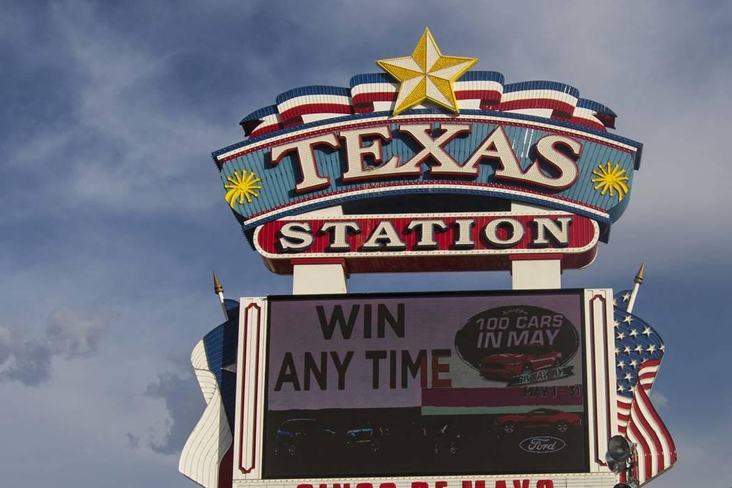 Texas Station in North Las Vegas. (Miranda Alam/Las Vegas Review-Journal) @miranda_alam