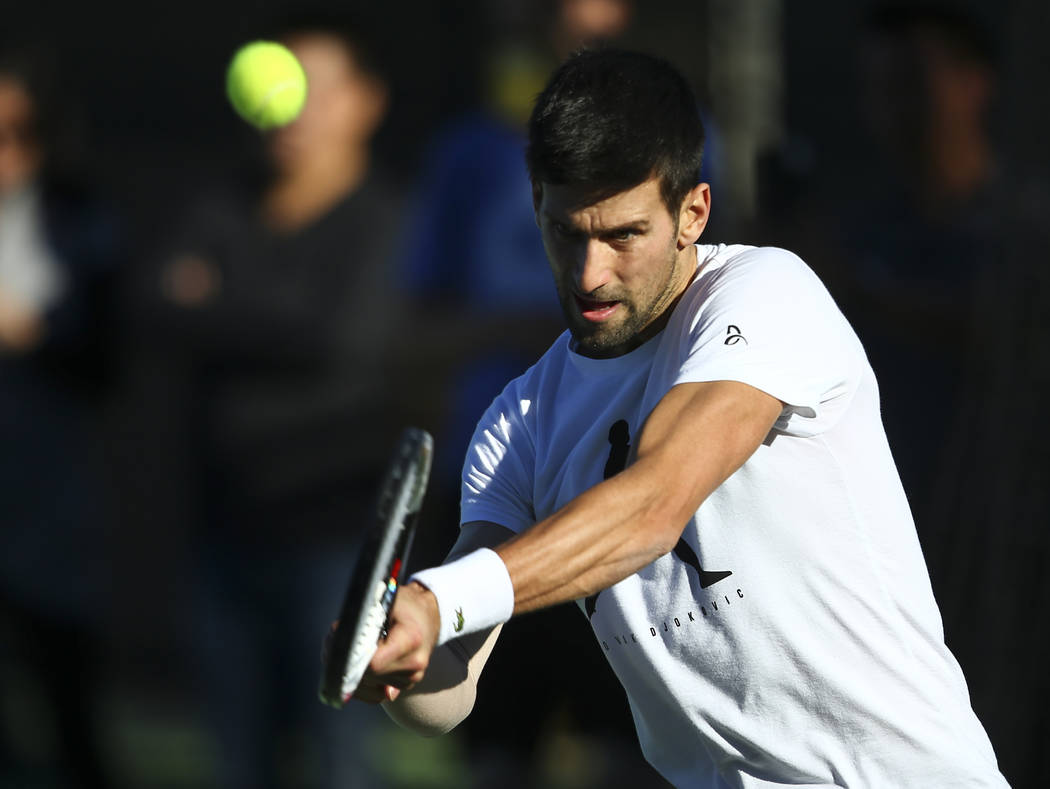 Agassi Top Tennis Stars Practice In Las Vegas Valley Las Vegas Review Journal