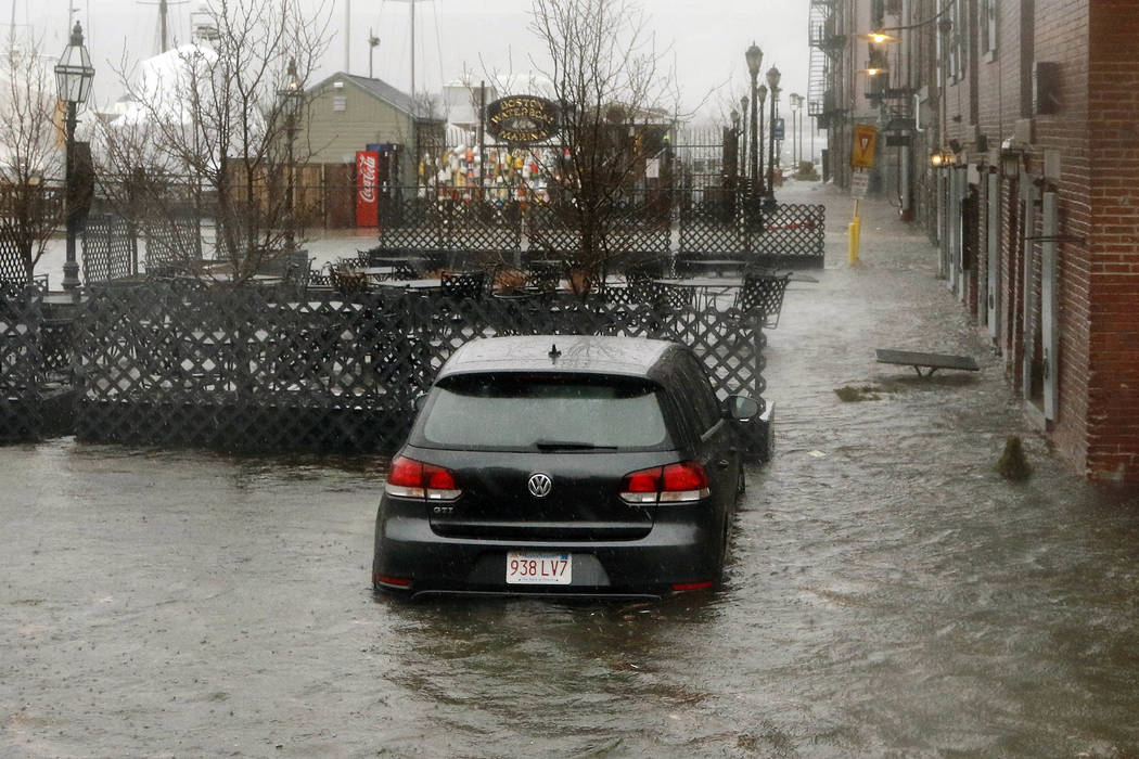 Nor'easter may lead to flooding on Sunday warns NWS