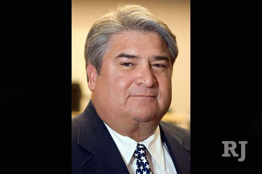 Former Las Vegas police detective Gordon Martines running for Clark County sheriff.
