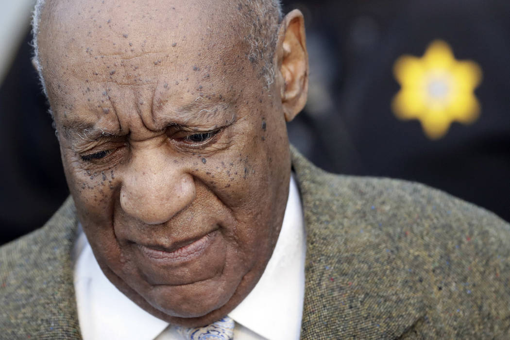 Bill Cosby arrives for a pretrial hearing in his sexual assault case at the Montgomery County Courthouse, Monday, March 5, 2018, in Norristown, Pa. (Matt Slocum/AP)