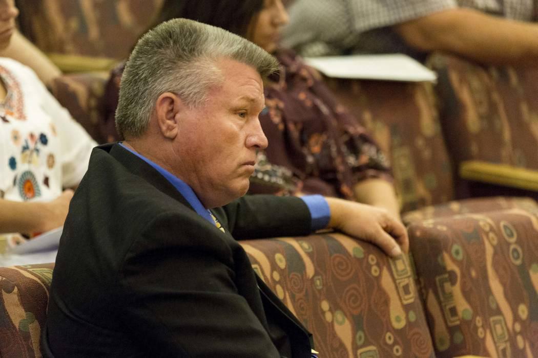 North Las Vegas Constable Robert Eliason. Elizabeth Brumley Las Vegas Review-Journal