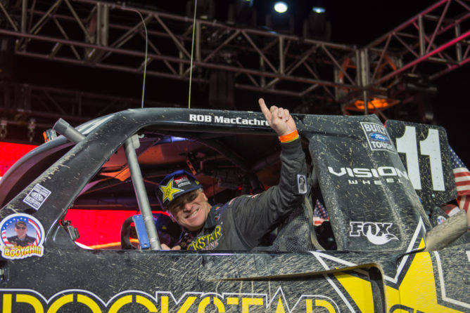 Rob MacCachren of Las Vegas wins The Mint 400 on Sunday, March 5, 2017. (The Mint 400)