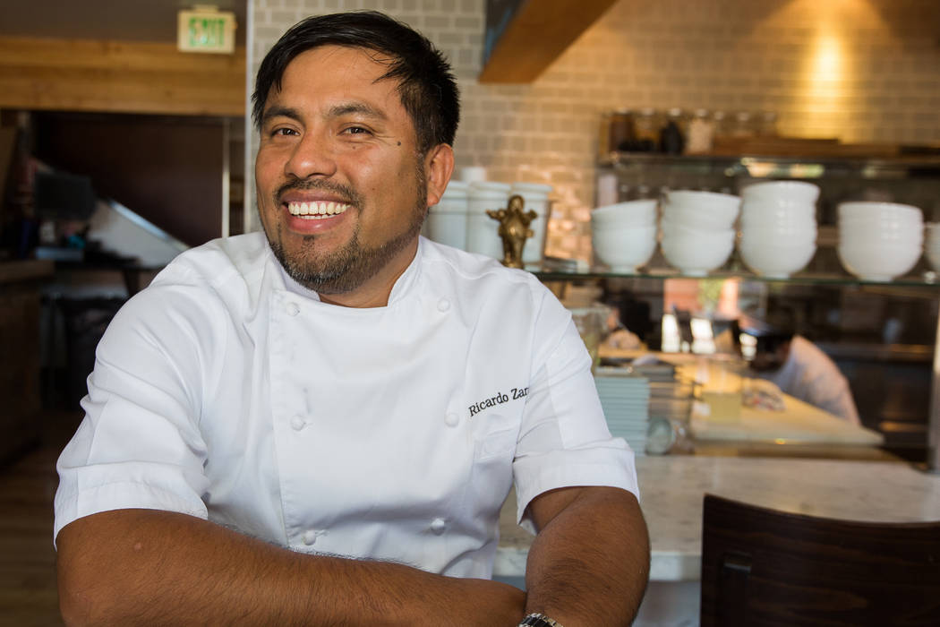Ricardo Zarate To Open Japanese Peruvian Once On Sunday Las Vegas Review Journal