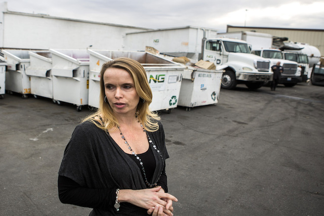 Danielle Basson, director of operations for Simple Environmental Service Group says they are being pushed out of business by Republic Services. Photo take on Wednesday, Dec. 21, 2016. Jeff Scheid/ ...