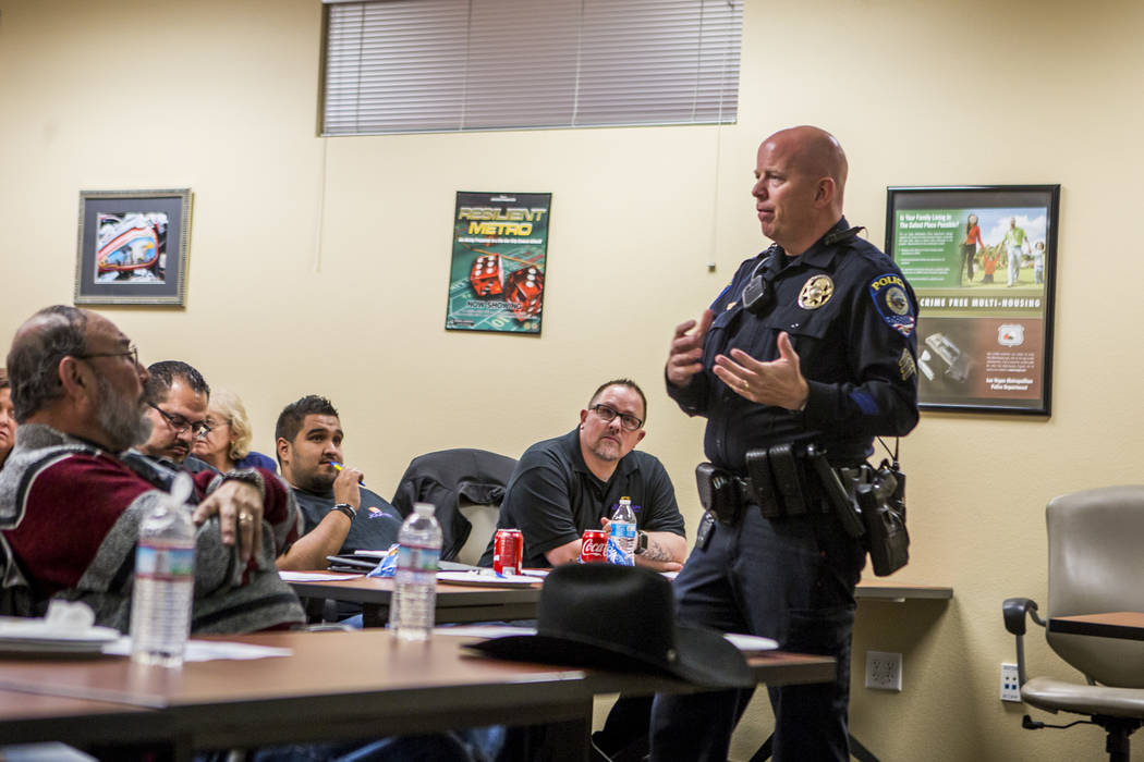 CCSD Police Sgt. Bryan Zink discusses school safety measures and policing  in the Clark County