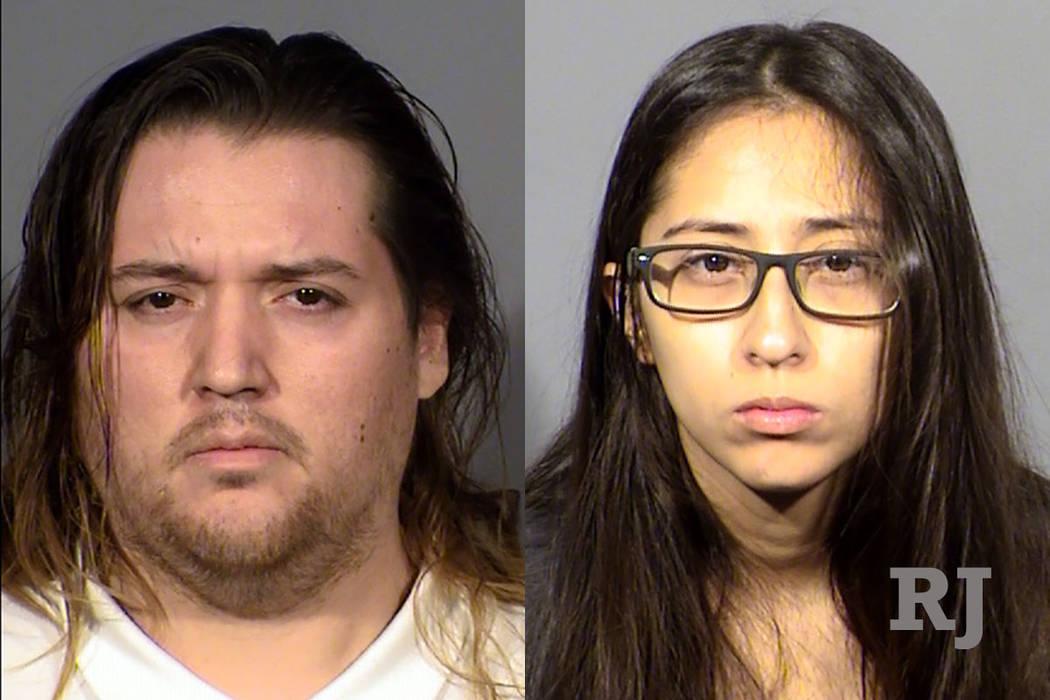 Anthony Oceja, 29, and Loreana Martinez, 24 (Las Vegas Metropolitan Police Department)