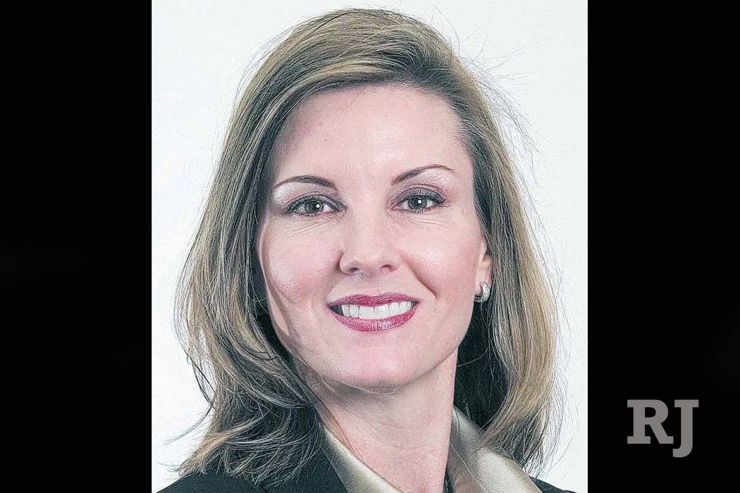 DianaHampton, a Henderson judge, died in March 2016. (Las Vegas Review-Journal)