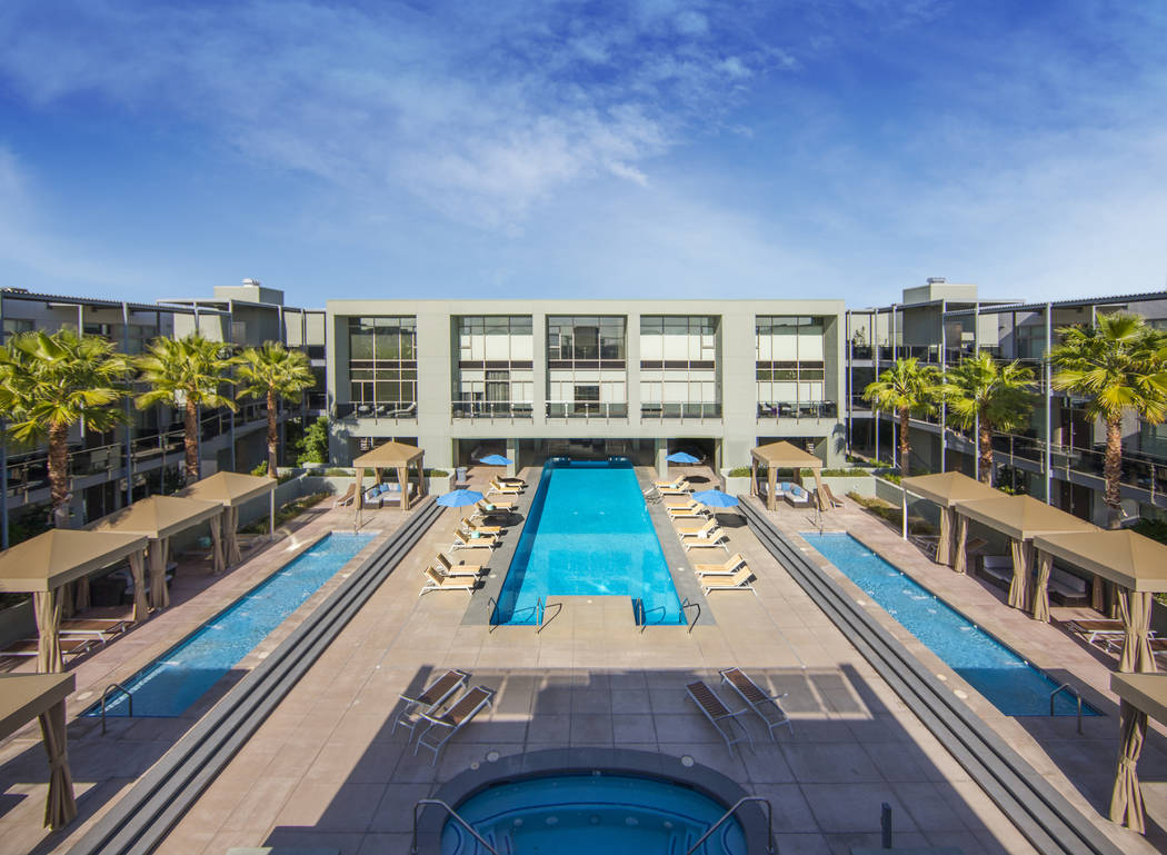 Resort-style condominium complex, Park House, has placed 43 newly renovated luxury condo units on the market. (Park House)