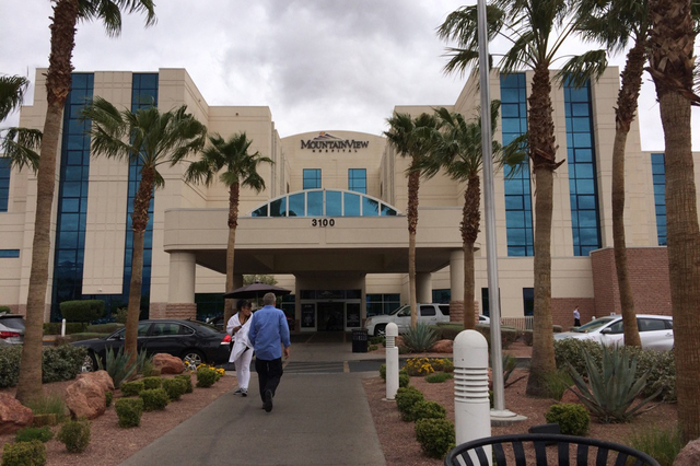 MountainView Hospital (Las Vegas Review-Journal)