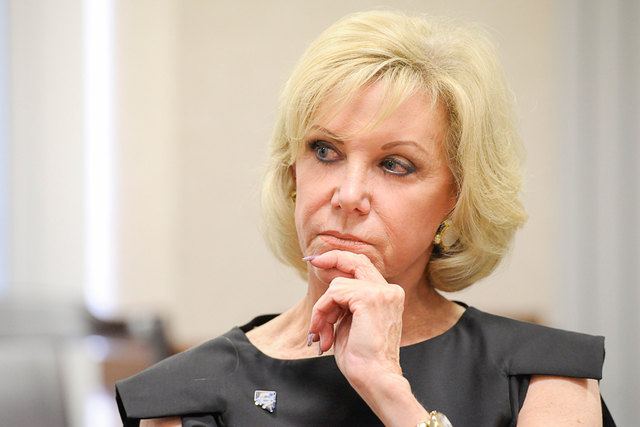 Elaine Wynn is fighting her ouster from the board for Wynn Resorts Ltd. (Mark Damon/Las Vegas Review-Journal file)