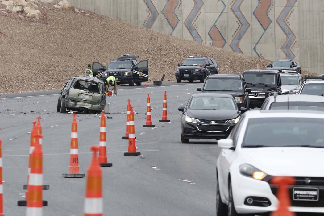 Crashes, 'Main Event' create hellish commute in Las Vegas | Las