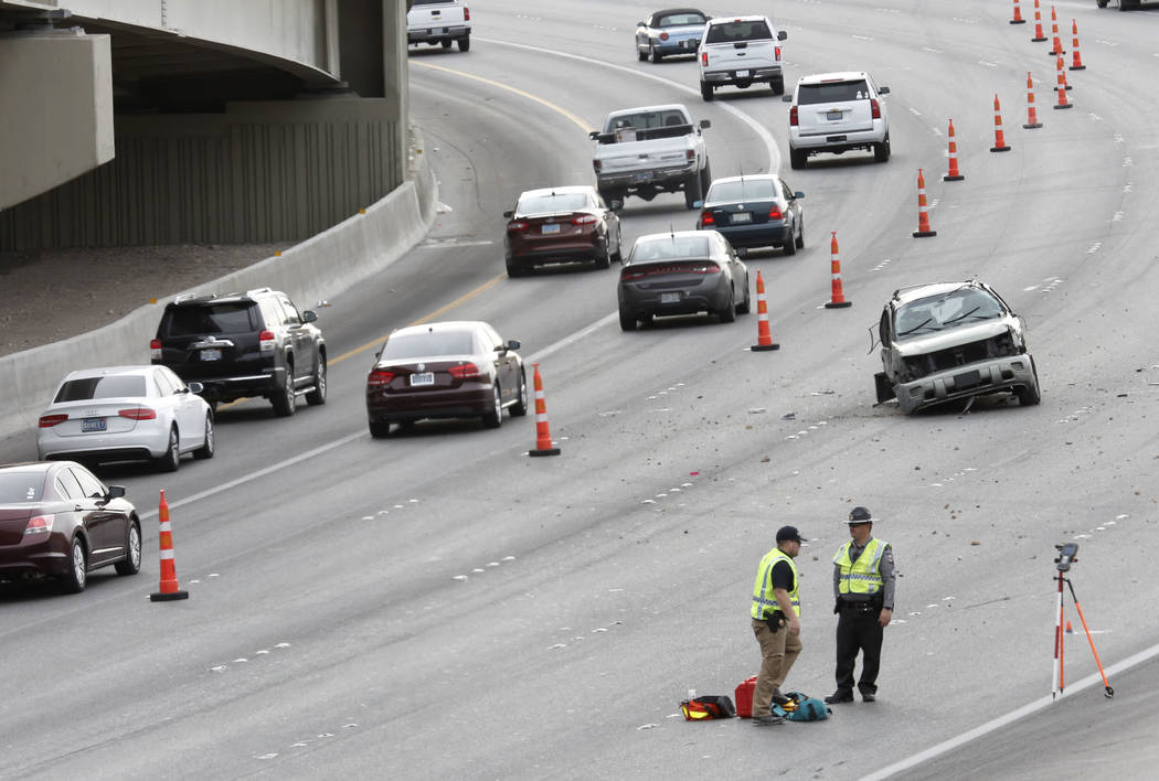 Crashes, 'Main Event' create hellish commute in Las Vegas | Las