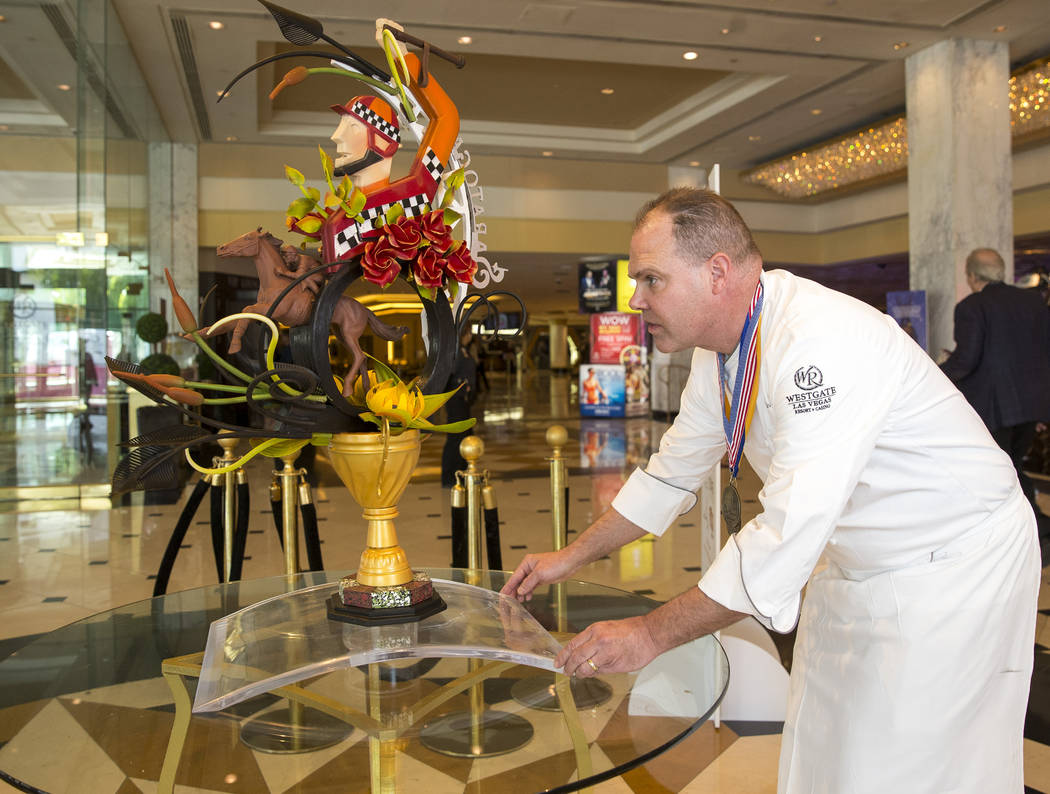Pastry Chef Stephen Sullivan at the Westgate resort-casino in Las Vegas on Friday, March 9, 2018. Richard Brian Las Vegas Review-Journal @vegasphotograph