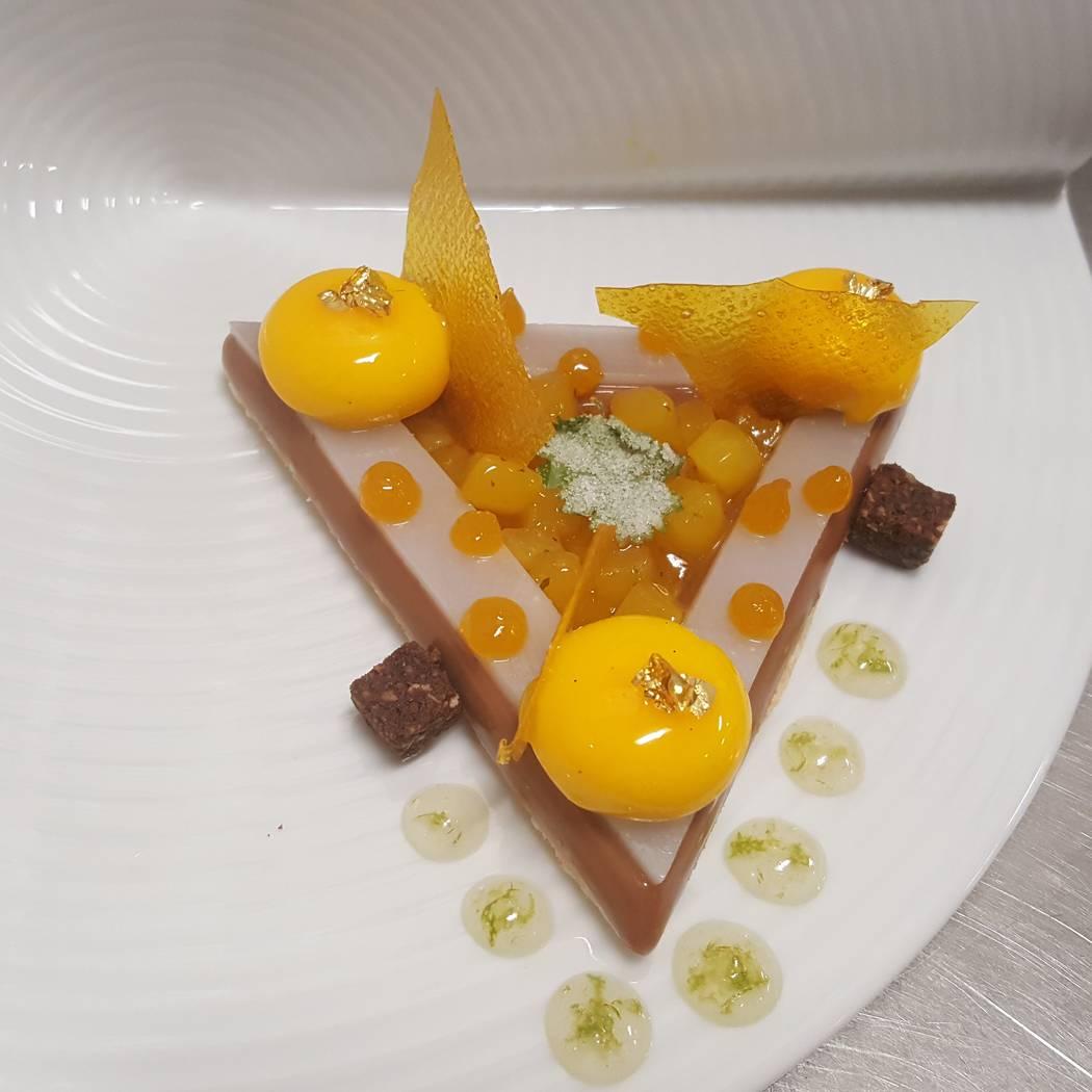 Westgate Stephen Sullivan's plated dessert