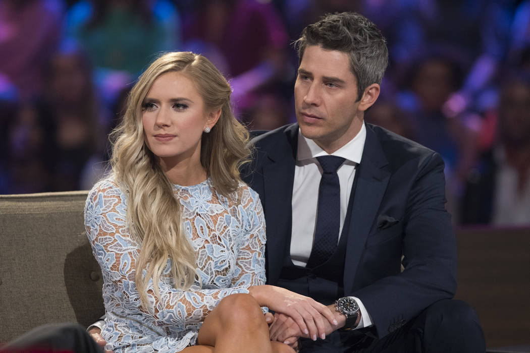 """Lauren Burnham, left, and Arie Luyendyk Jr. on """"The Bachelor: After the Final Rose."""" Luyendyk  says he's willing to take the heat for dumping Becca Kufrin to find true love with runner-up Lauren B ..."""