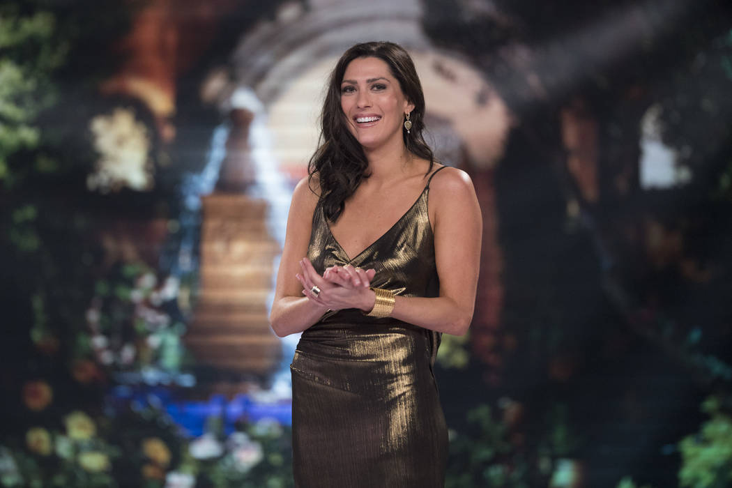 """Becca Kufrin on """"The Bachelor: After the Final Rose."""" On this season's """"The Bachelor,"""" Arie Luyendyk Jr. broke up with Kufrin during Monday's season finale and chose runner-up Lauren Burnham. Kufr ..."""