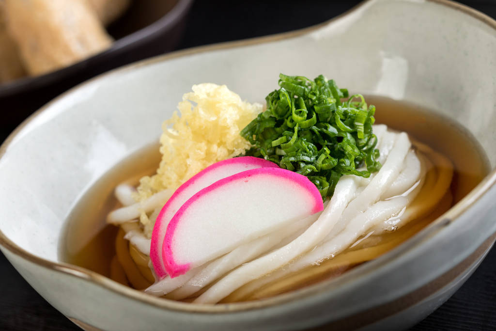Udon at Cafe Sanuki. Cafe Sanuki