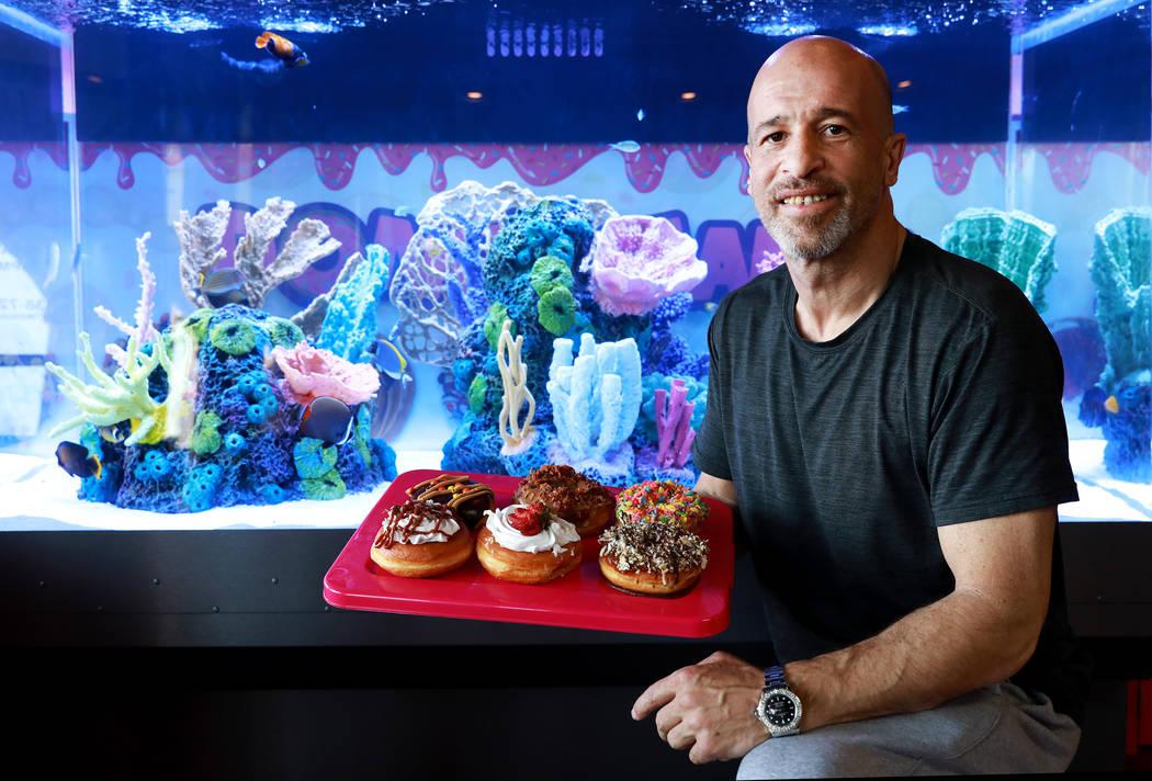 Tanked creator brett raymer enters doughnut business for Fish store las vegas