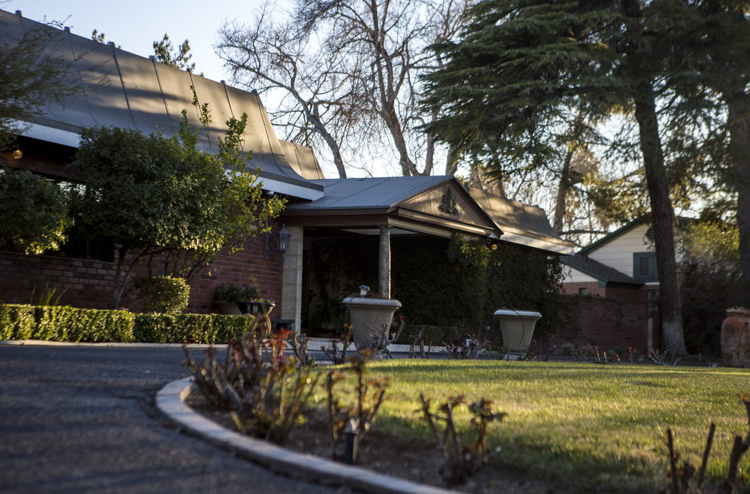 The home at 1925 Silver Avenue in Las Vegas on Thursday, March 8, 2018. The homeowner was subject to $72,900 for renting the home on rental vacation websites without a license from the city.  Patr ...