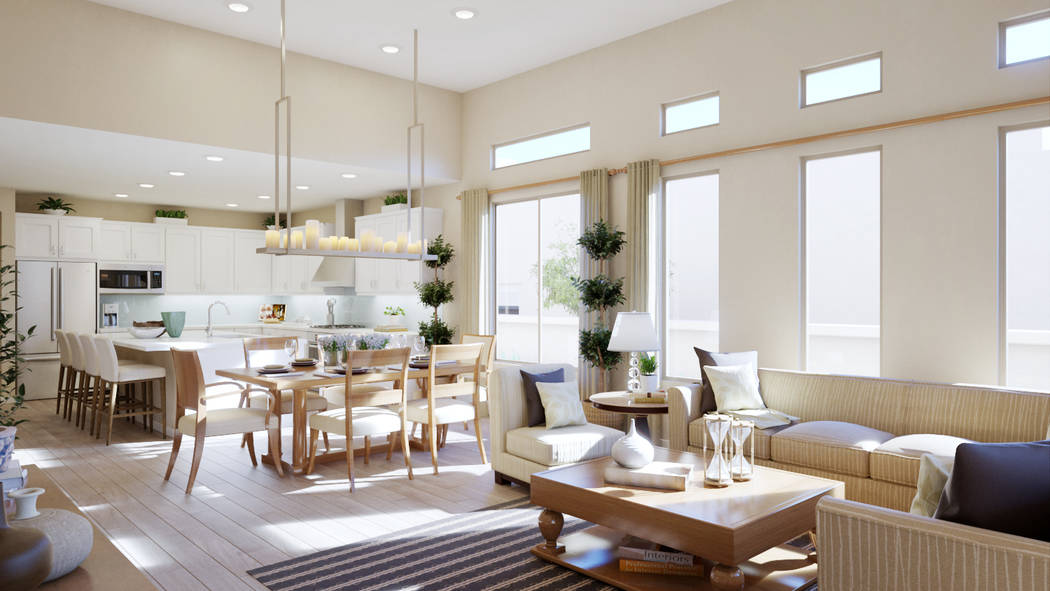 Trilogy in Summerlin has debuted six new model homes. (Trilogy)