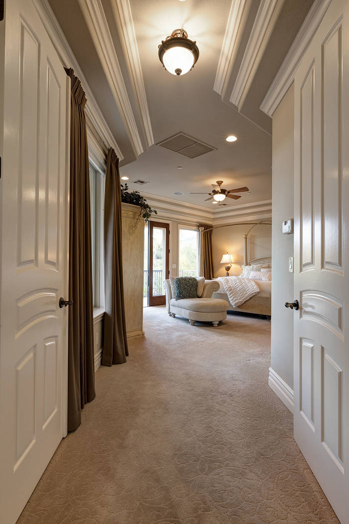 The master suite. (Synergy/Sotheby's International Realty)