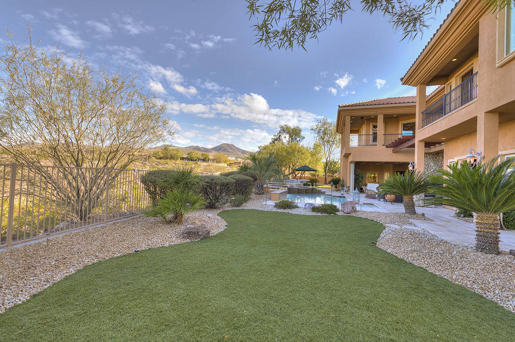The home sits on nearly a half an acre.   (Synergy/Sotheby's International Realty)