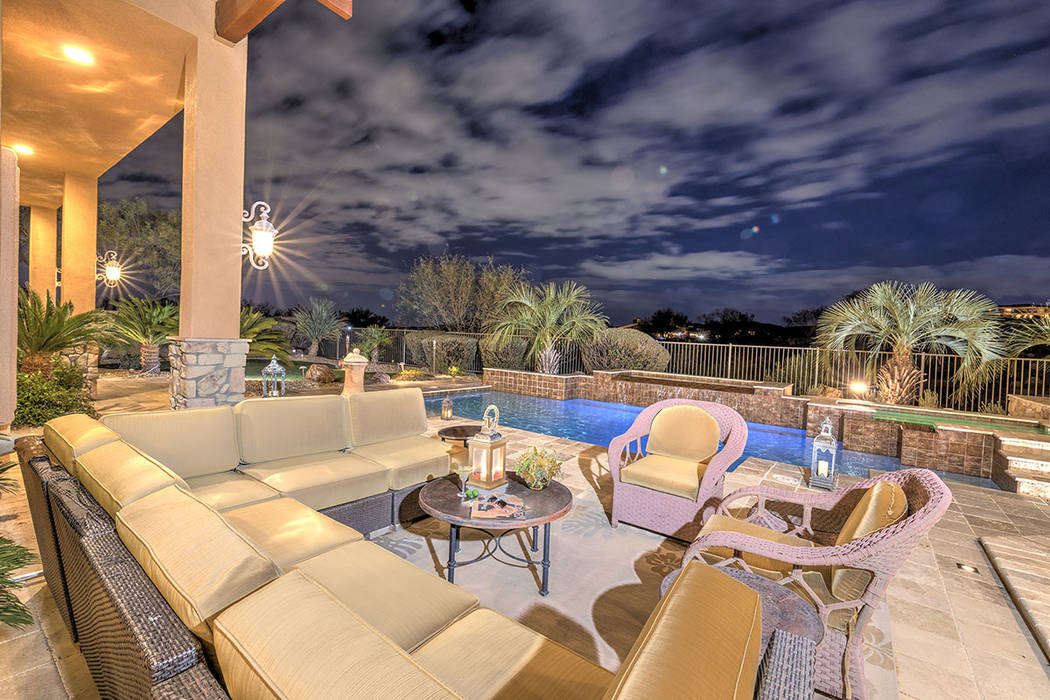 The home was built for entertaining. (Synergy/Sotheby's International Realty)