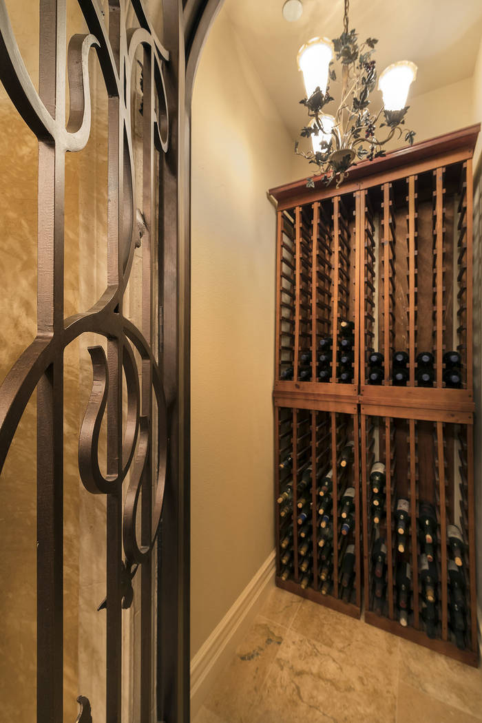 The wine room. (Synergy/Sotheby's International Realty)