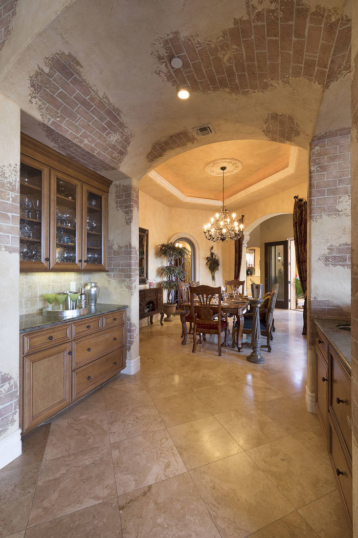 The kitchen area has a butler's pantry. (Synergy/Sotheby's International Realty)