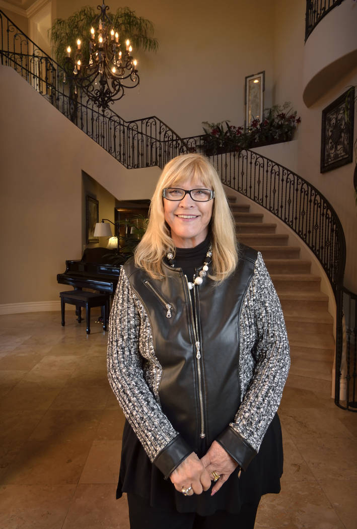 Barbara Adcock is shown at her home in Henderson on Wednesday, Feb. 28, 2018. (Bill Hughes/Real Estate Millions)
