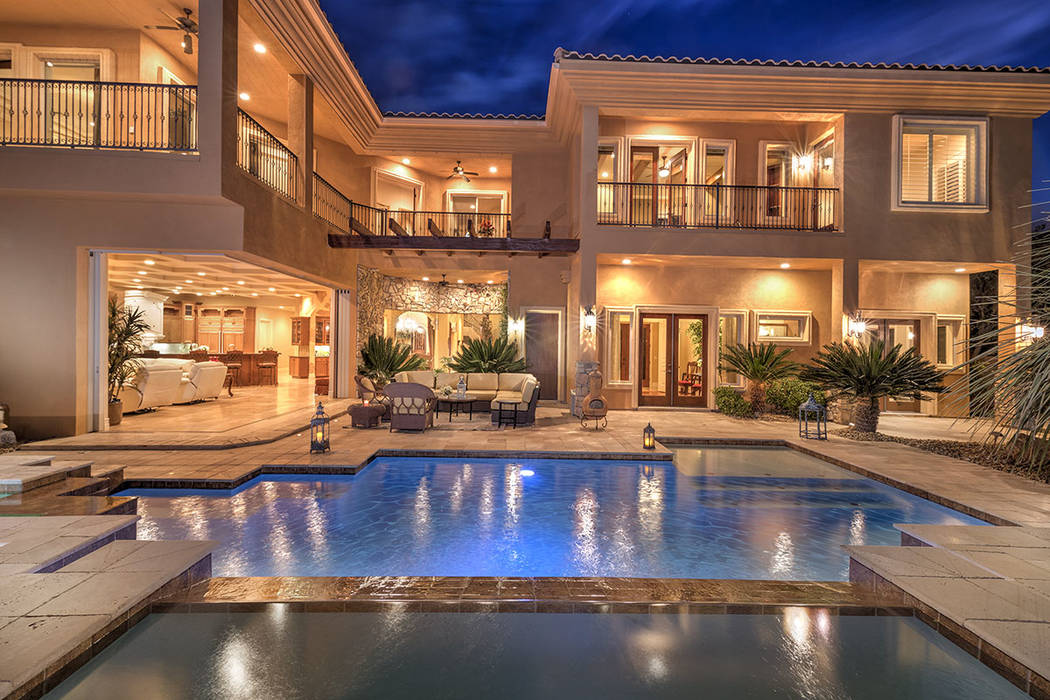 This 7,241-square-foot Anthem Country Club has been listed for nearly $2.3 million. (Synergy/Sotheby's International Realty)