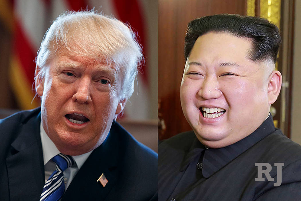 President Donald Trump and North Korean leader Kim Jong Un (The Associated Press)